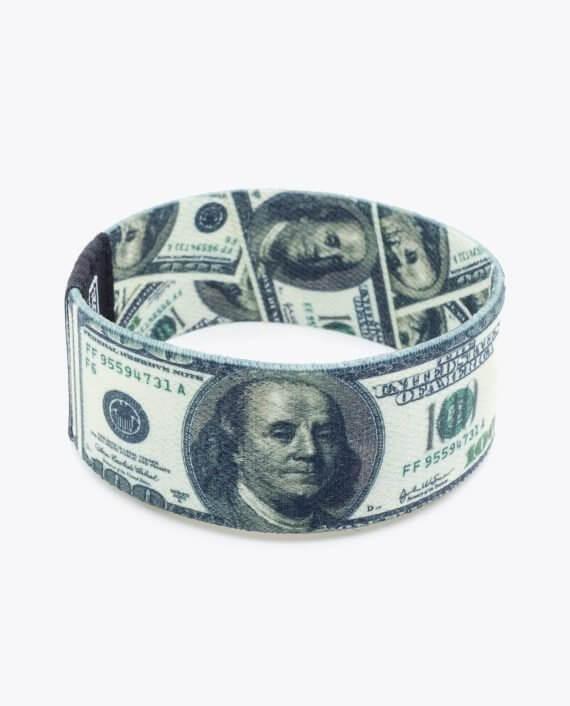 100 Dollar Bills Bracelet 001-1