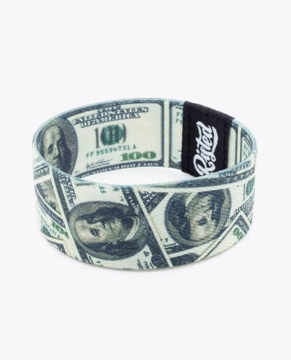 100 Dollar Bills Bracelet 001-2