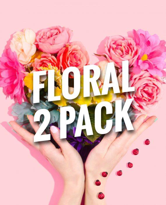 Floral Bracelets 2 Pack
