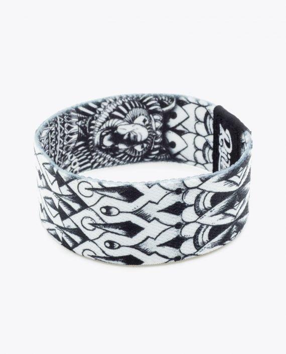 Ornate Grizzly Bear Bracelet by Bioworkz 028-2