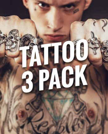 Tattoo Bracelets 3 Pack