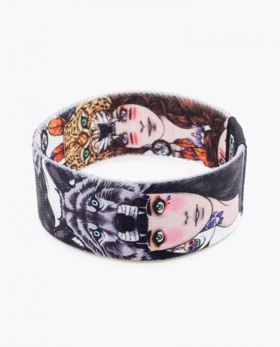 Wolf Girl Leopard Girl Bracelet by Rik Lee 021-1