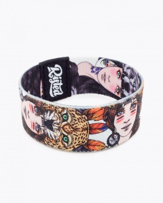 Wolf Girl Leopard Girl Bracelet by Rik Lee 021-2