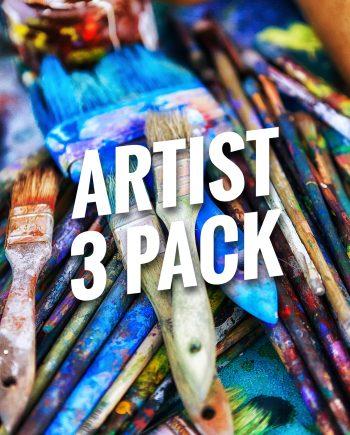 Artist Bracelets 3 Pack