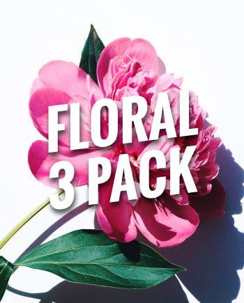 Floral Bracelets 3 Pack