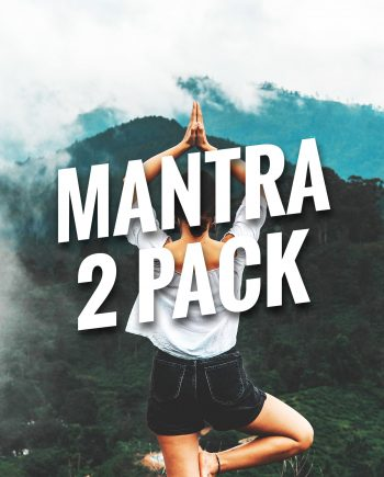 Mantra Bracelets 2 Pack
