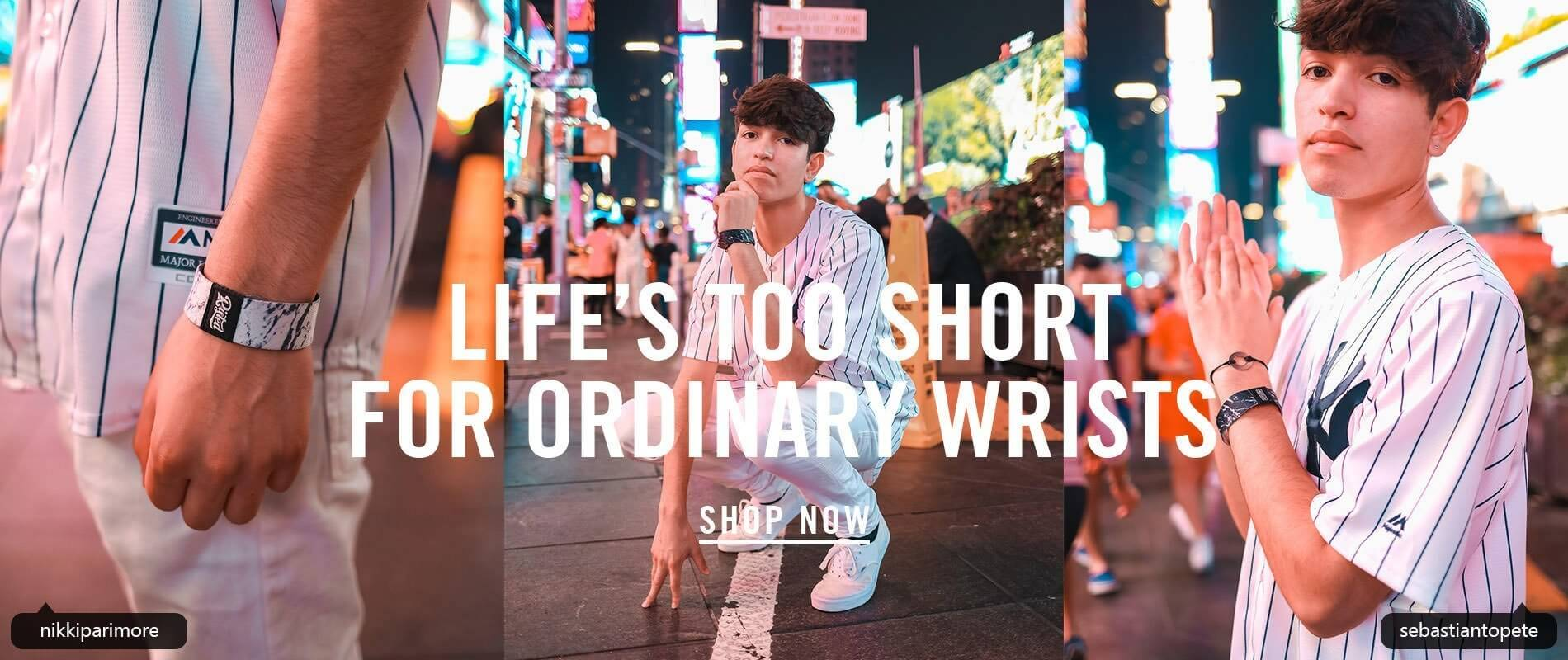 life's too short for ordinary bracelets risted